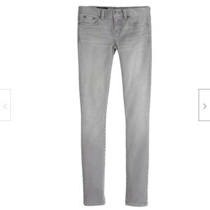 J Crew Toothpick Ankle Jeans in Dolphin Gray Wash
